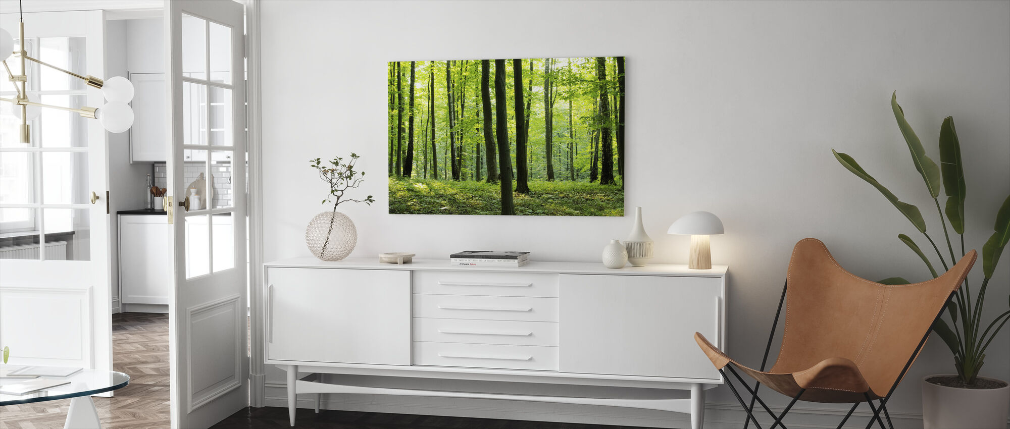 Rural Forest - Canvas print - Living Room