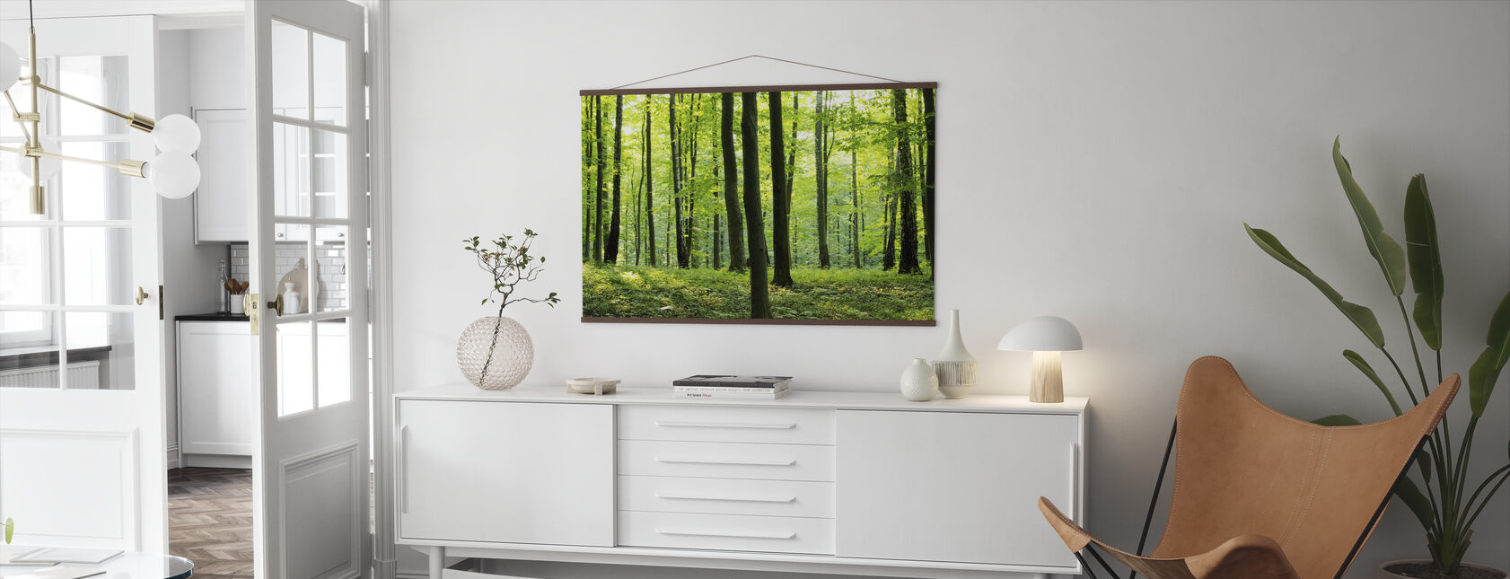 Rural Forest - Poster - Living Room