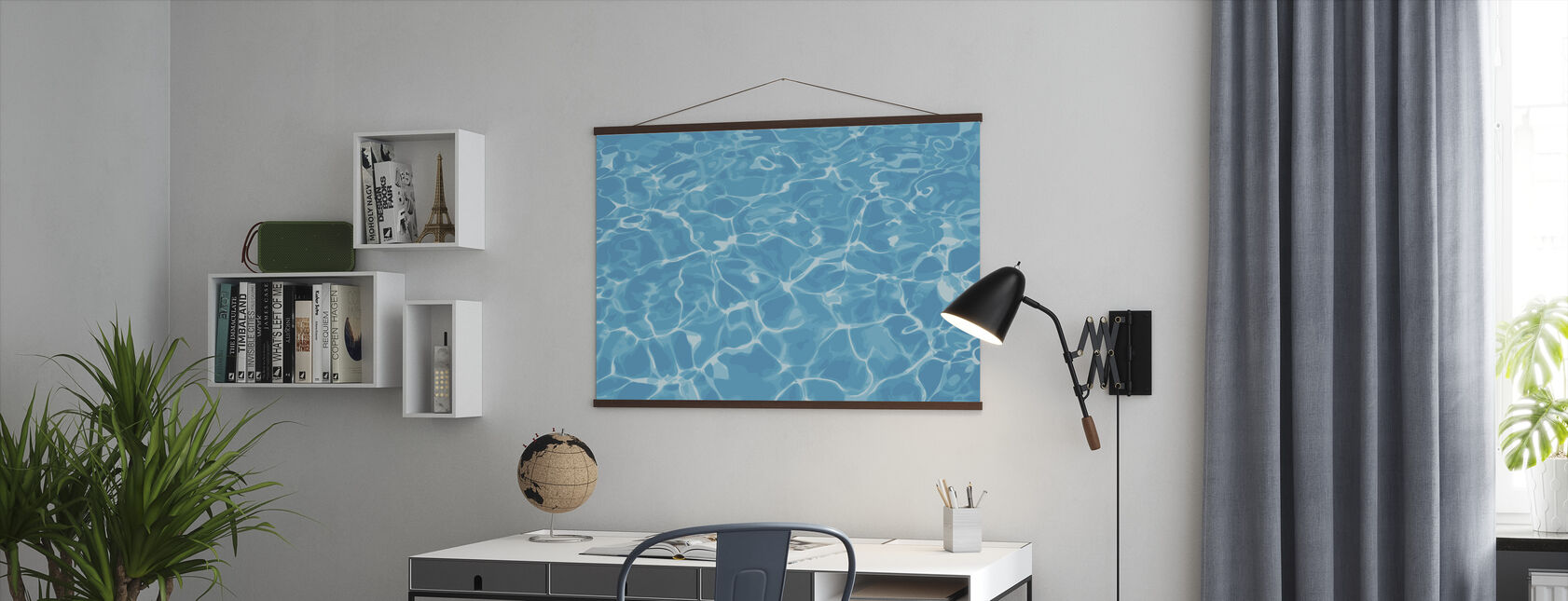 Reflection in Water - Poster - Office