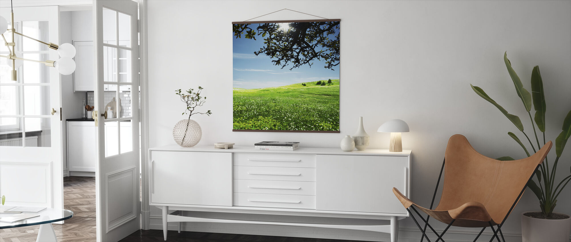 Green Meadow - Poster - Living Room