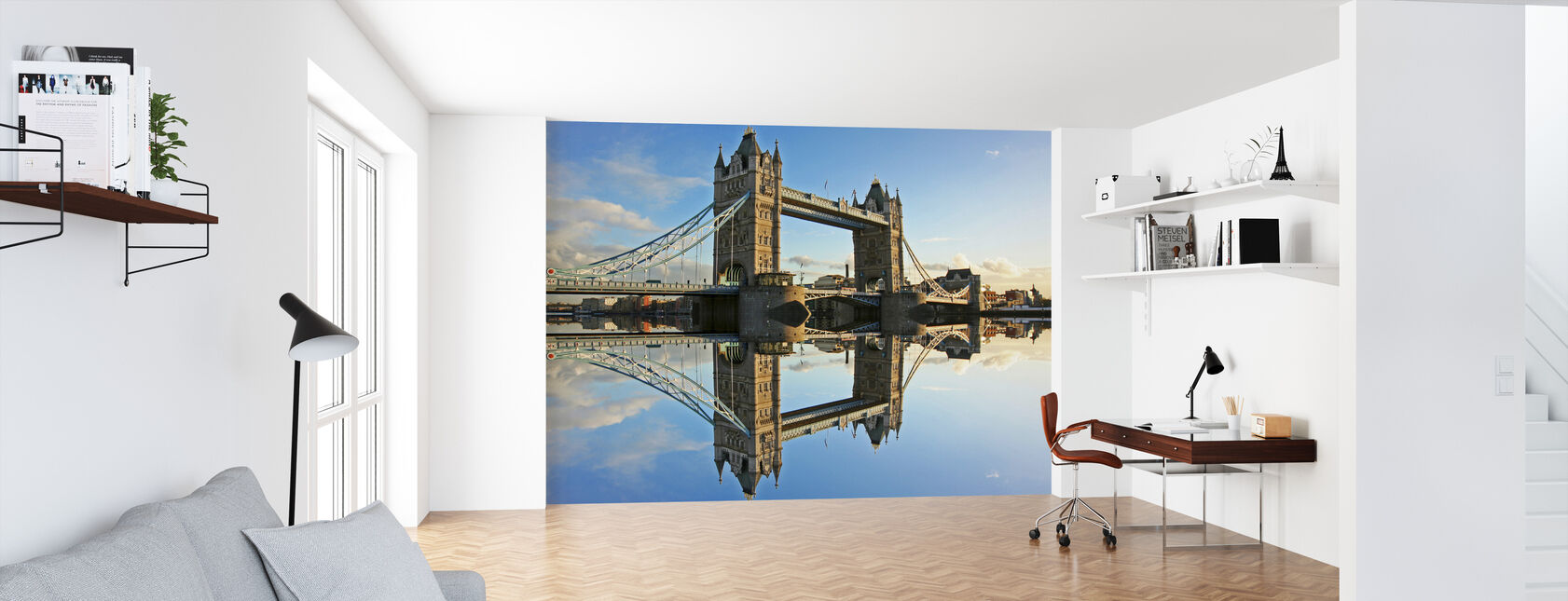 Tower Bridge at Sunset - Wallpaper - Office
