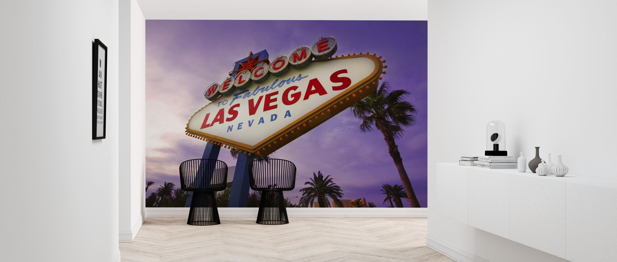 Las Vegas Sign - Wallpaper - Hallway