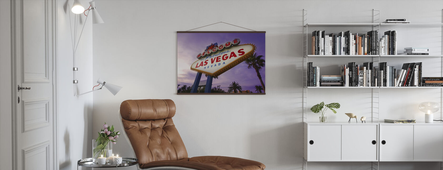 Las Vegas Sign - Poster - Living Room