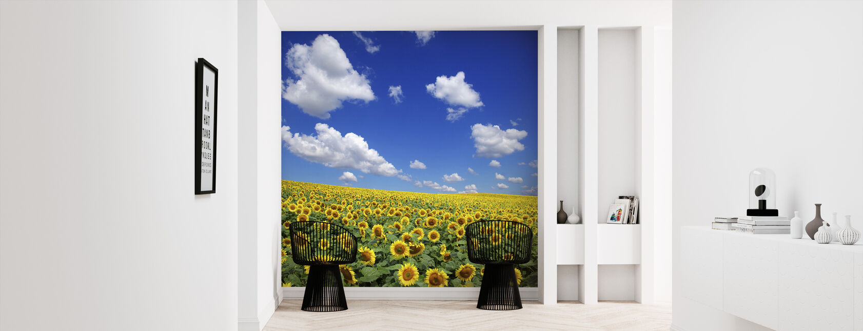 Sunflower Field - Wallpaper - Hallway