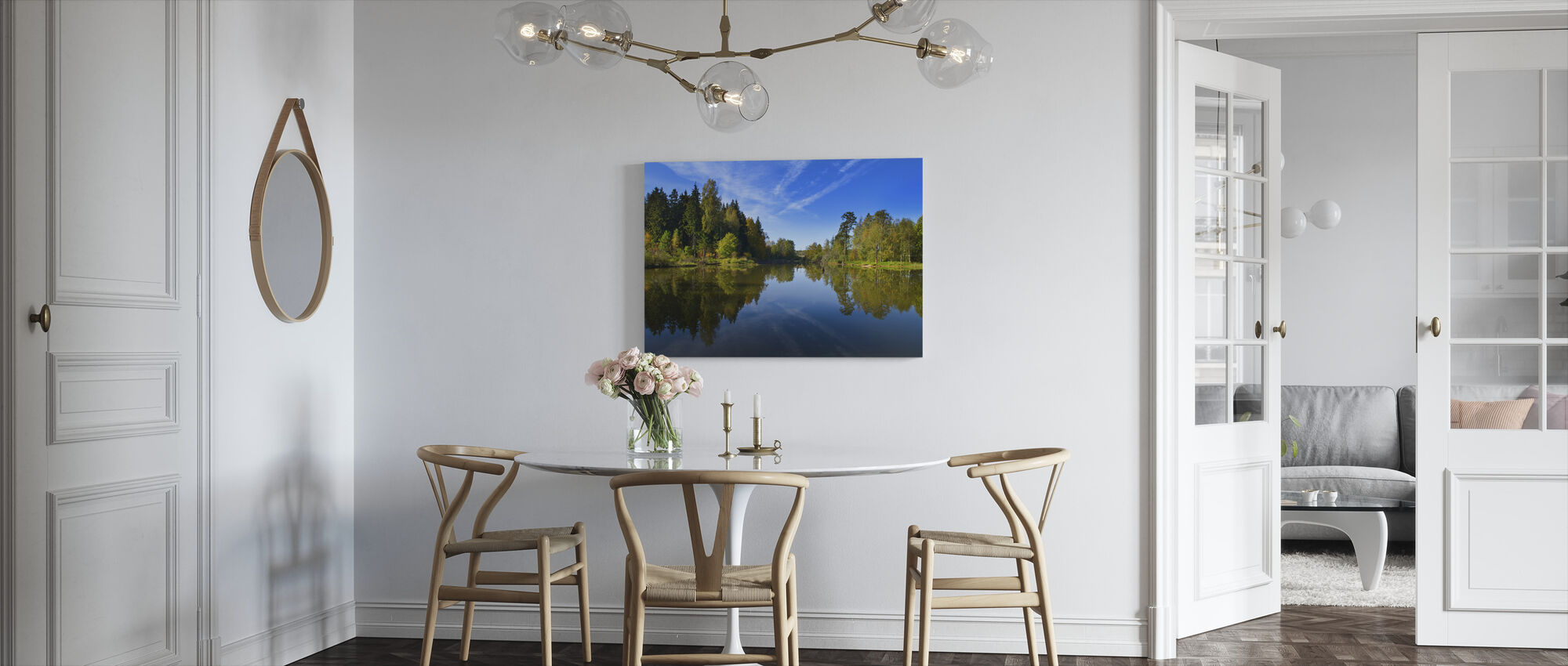 Sommer Lake - Lerretsbilde - Kjøkken