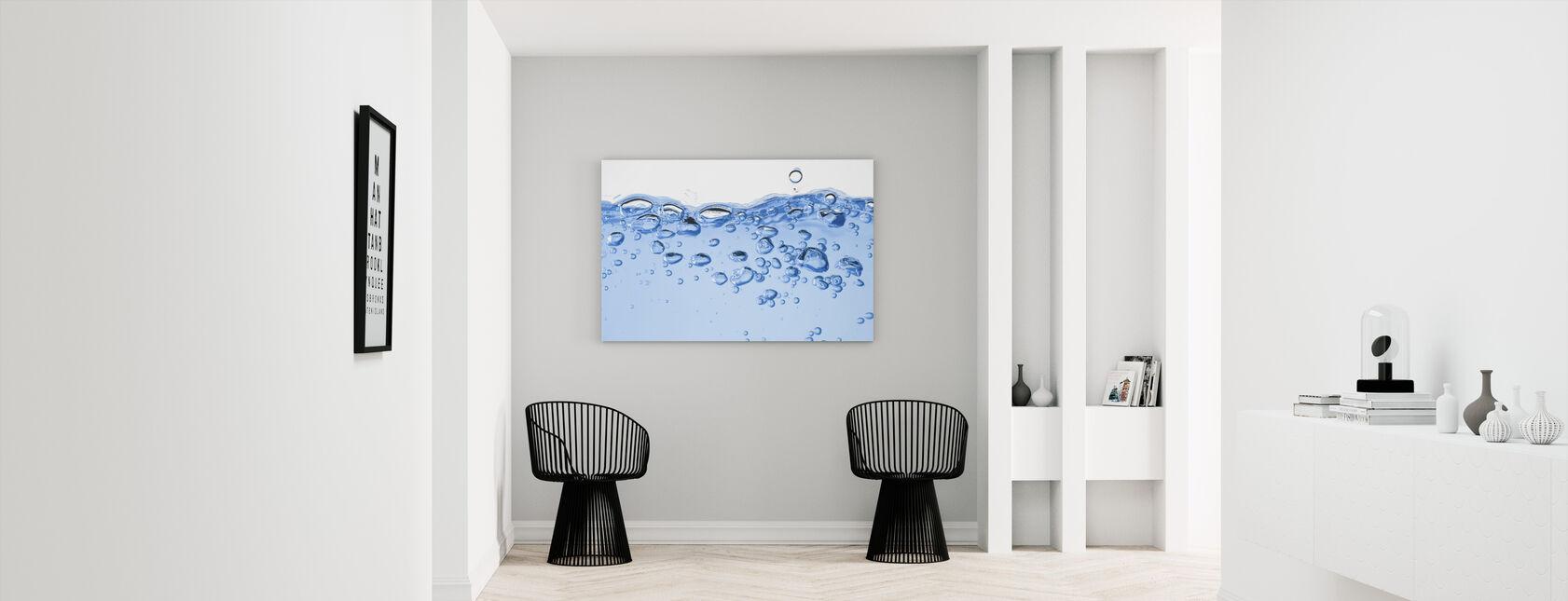 Splashing Water - Canvas print - Hallway
