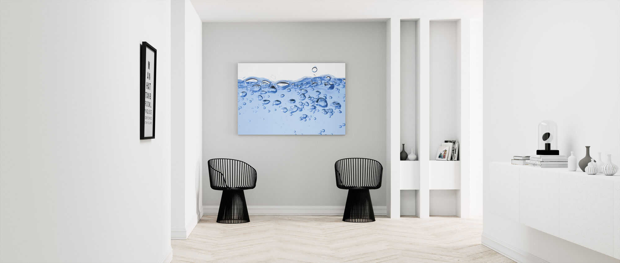 Splashing Water - Canvas print - Hallway