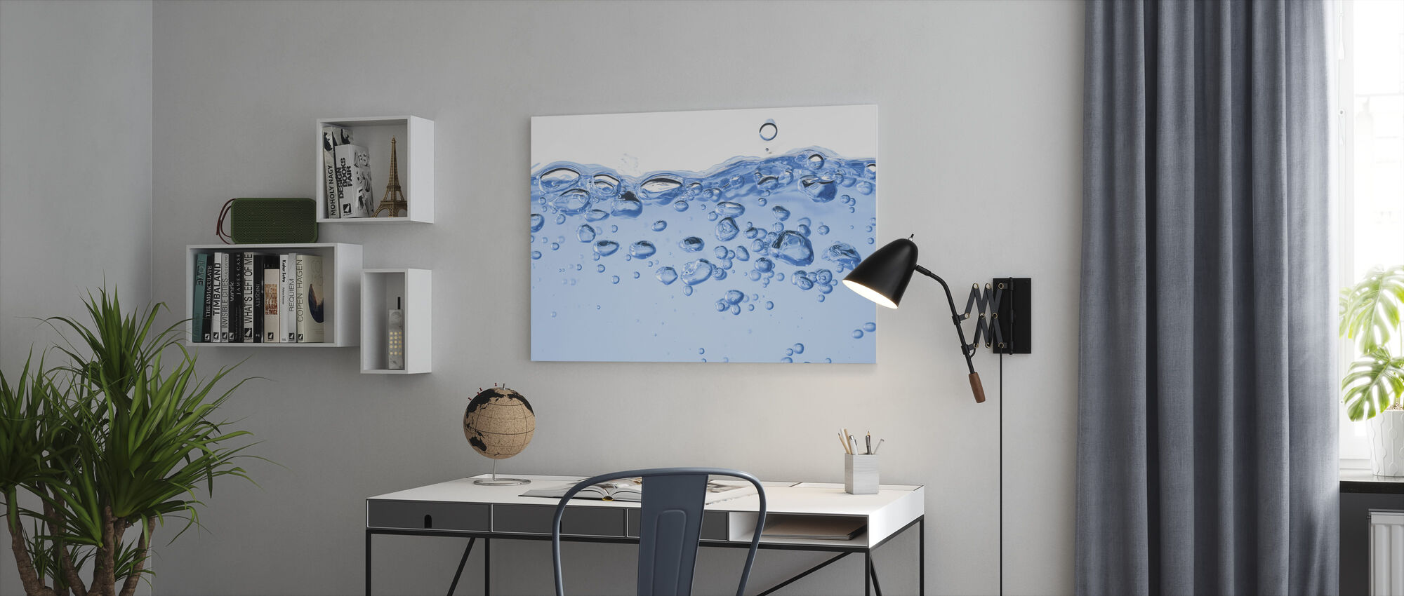 Splashing Water - Canvas print - Office
