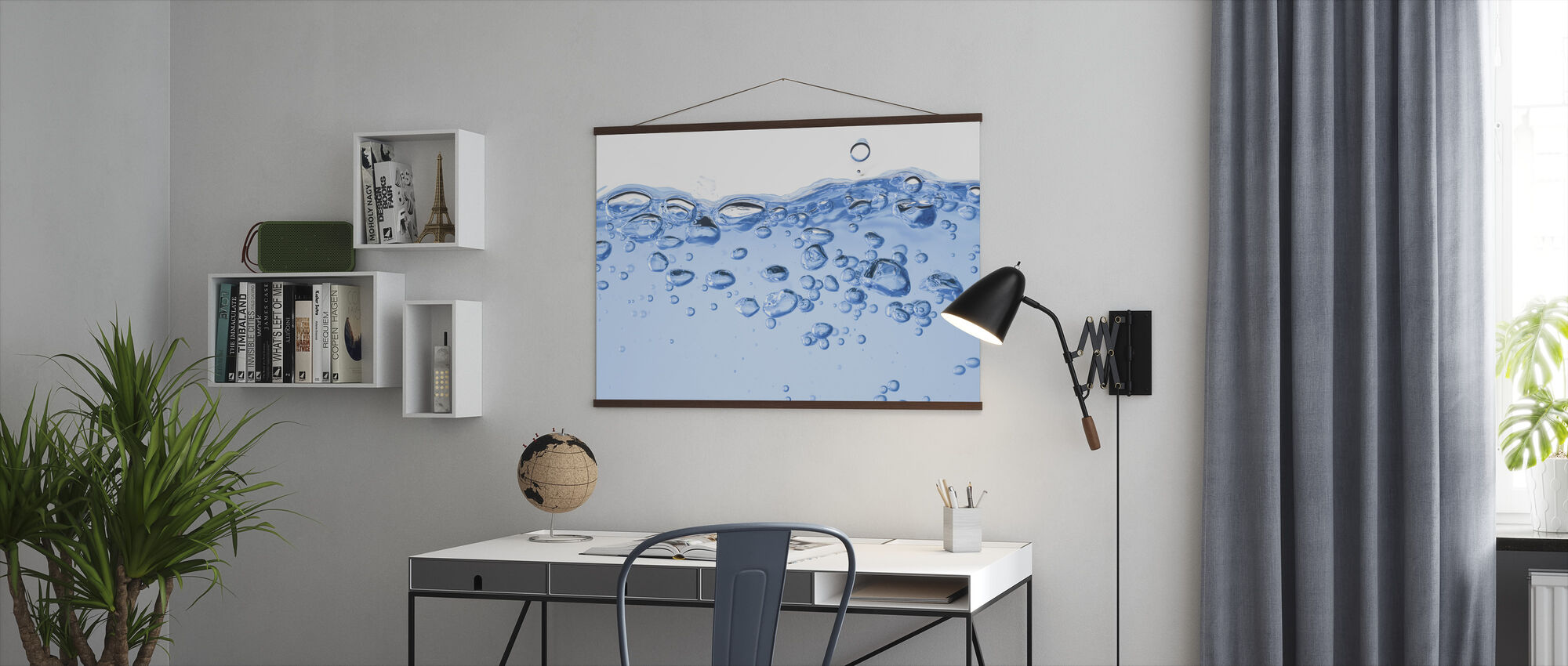 Splashing Water - Poster - Office