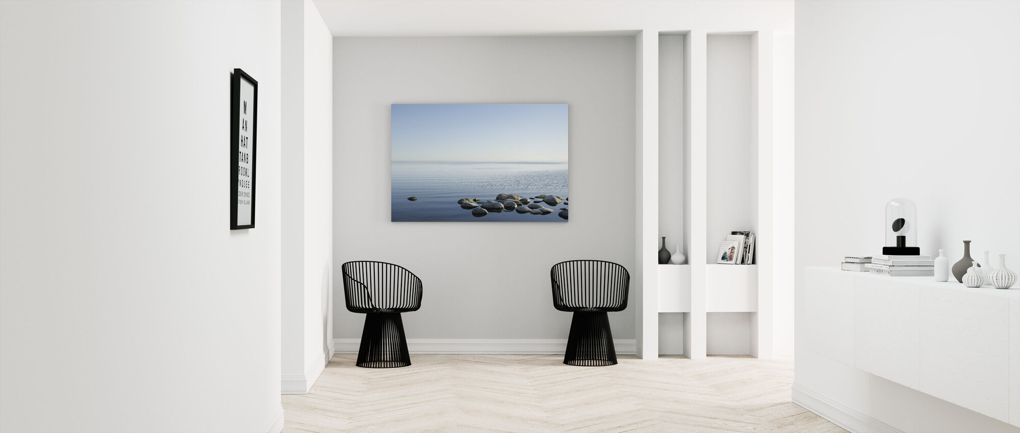 Svenska Havet Horizon - Canvastavla - Hall