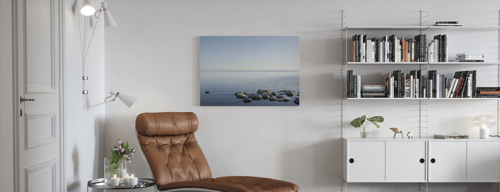 Svenska Havet Horizon - Canvastavla - Vardagsrum
