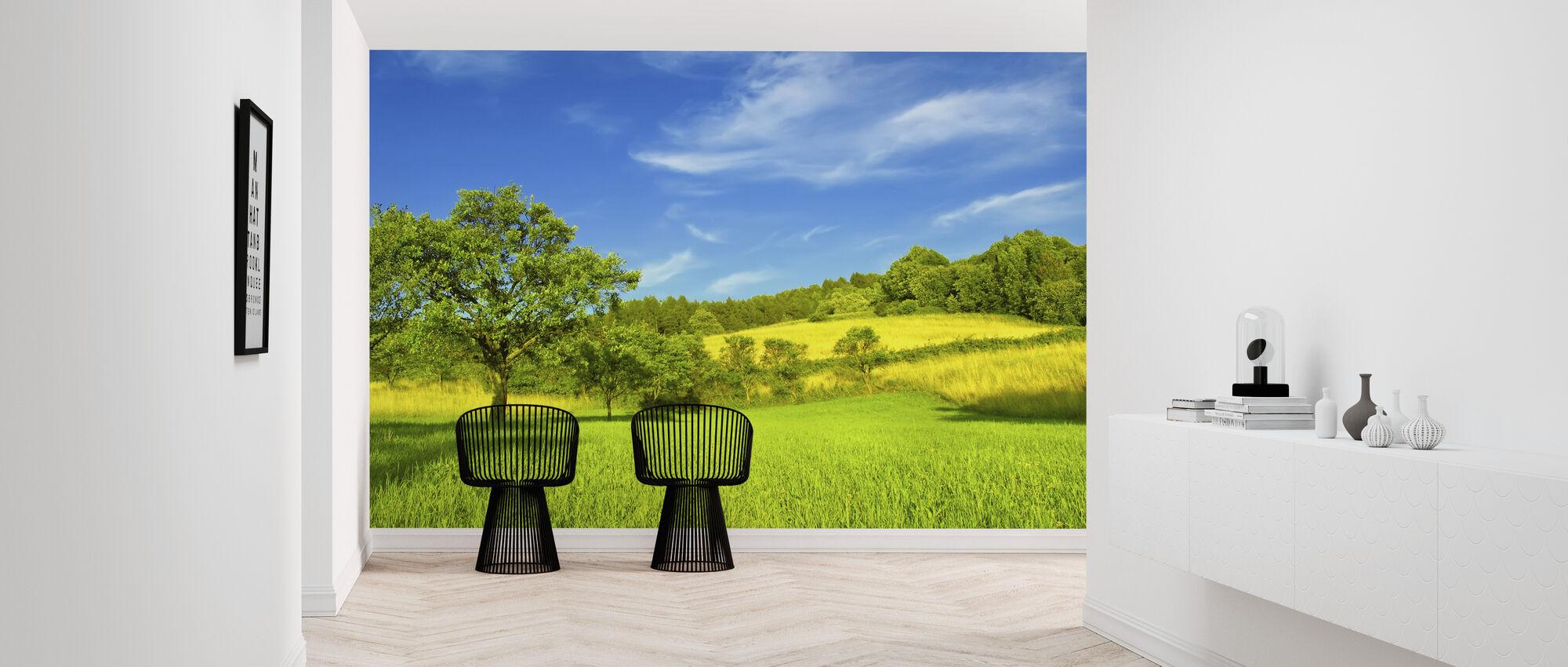 Sunny Summer Day - Wallpaper - Hallway