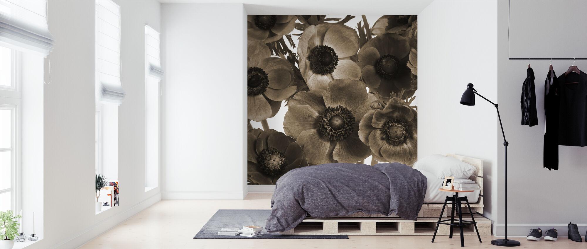 Anemones - Wallpaper - Bedroom