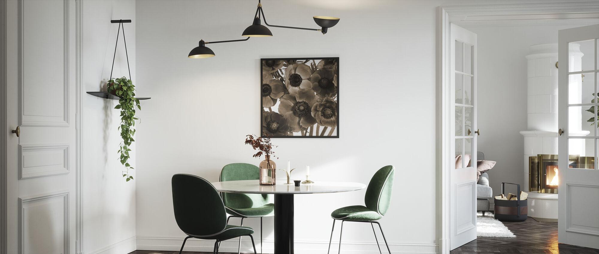 Anemones - Framed print - Kitchen