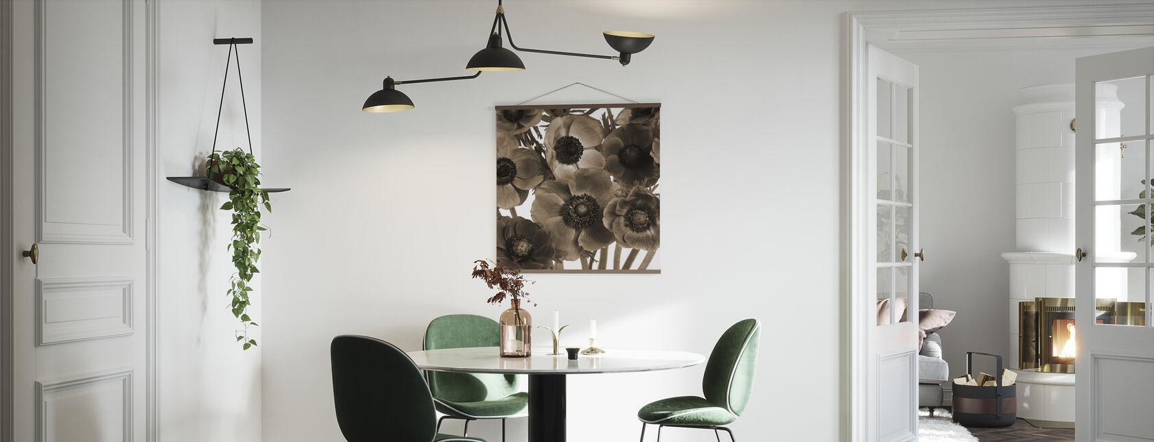 Anemoner - Plakat - Kjøkken