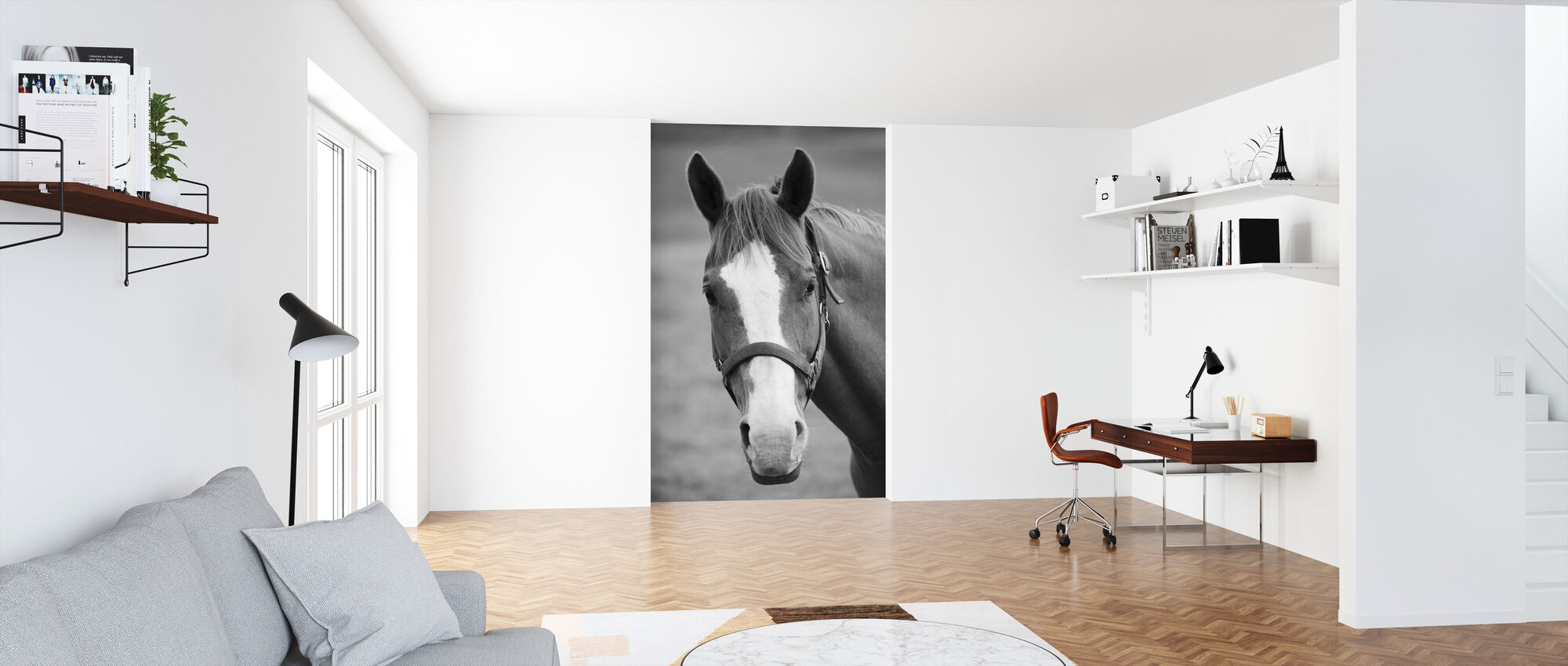 Sweet Horse - Wallpaper - Office