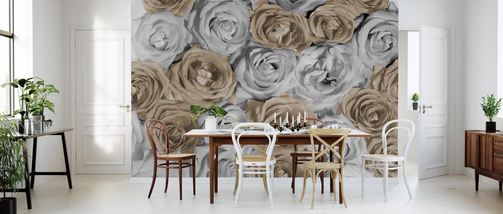 nice roses 1 d coration murale de grande qualit avec livraison gratuite photowall. Black Bedroom Furniture Sets. Home Design Ideas