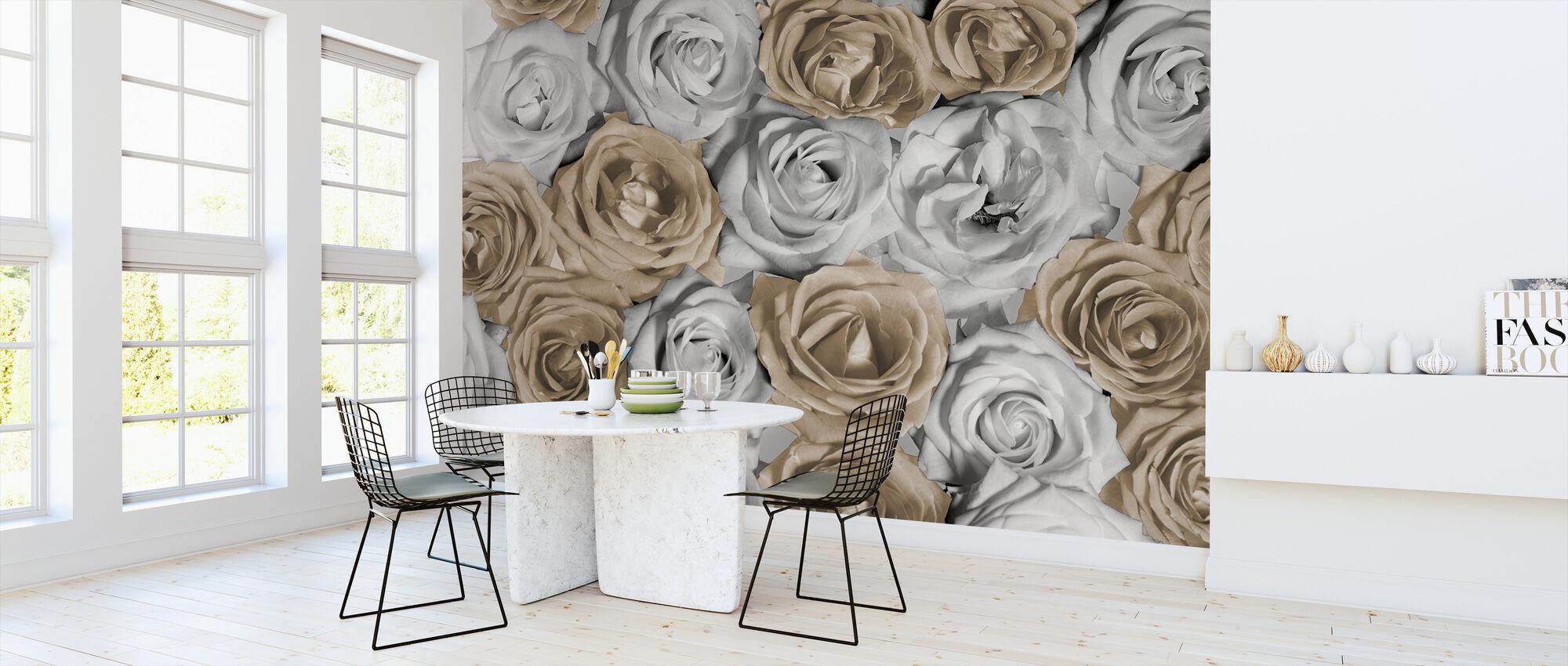 Nice Roser 1 - Tapet - Kjøkken