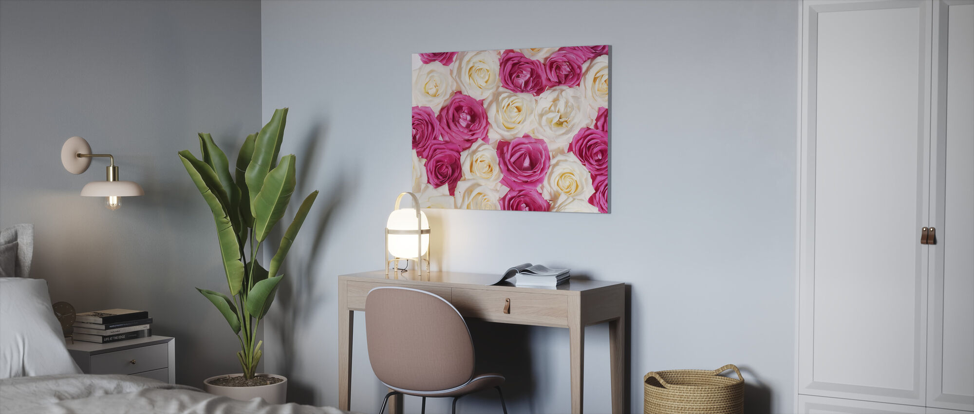 Nice Roses - Canvas print - Office