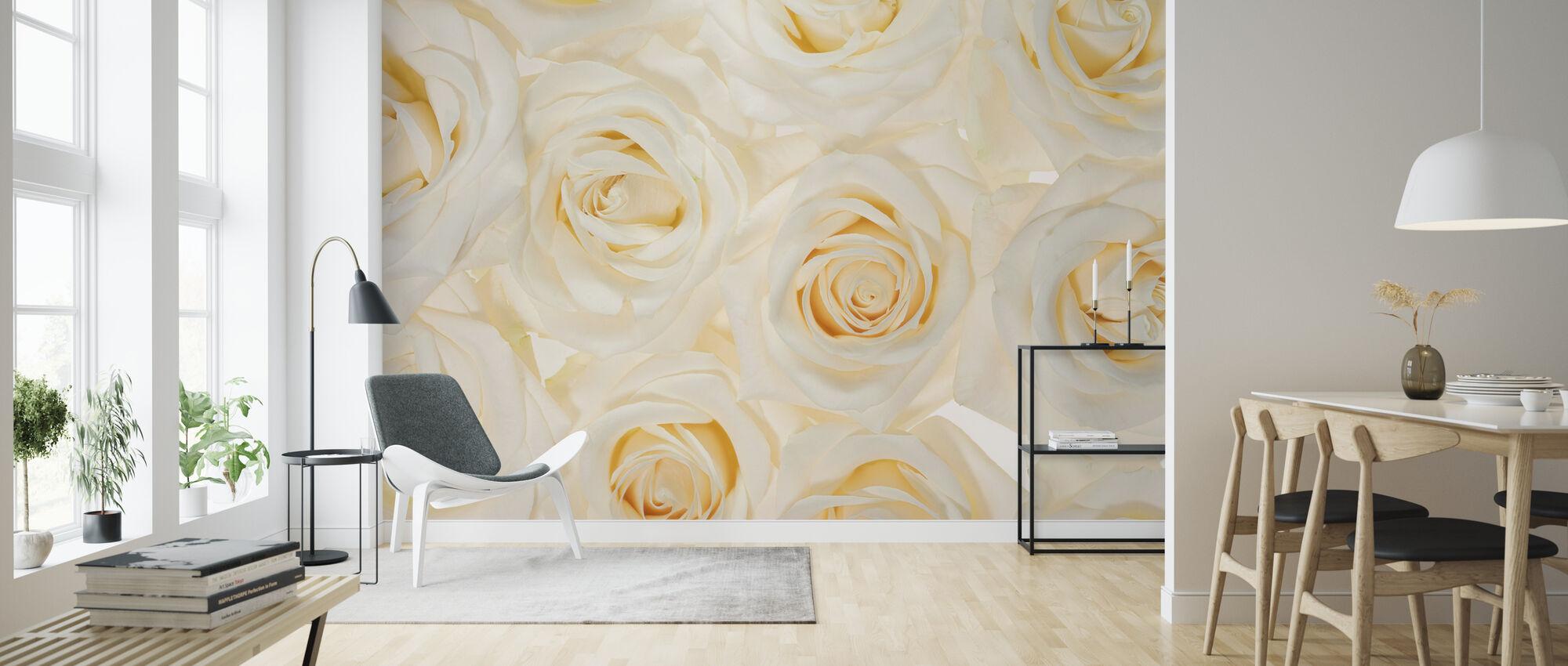 Nice Roses 3 - Wallpaper - Living Room