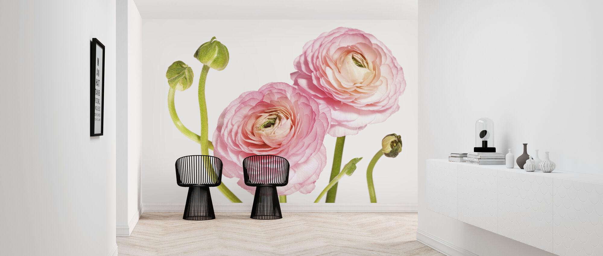 Rosa Flowers - Wallpaper - Hallway