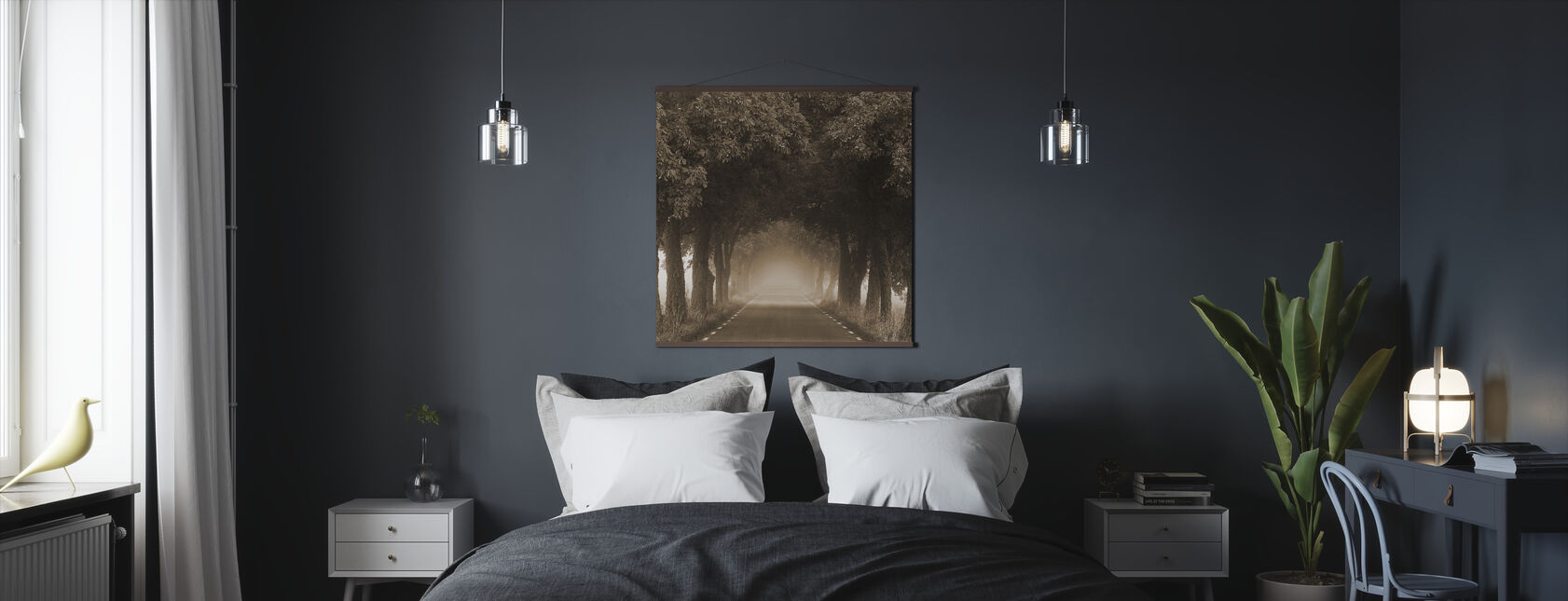 Misty Avenue - Poster - Bedroom