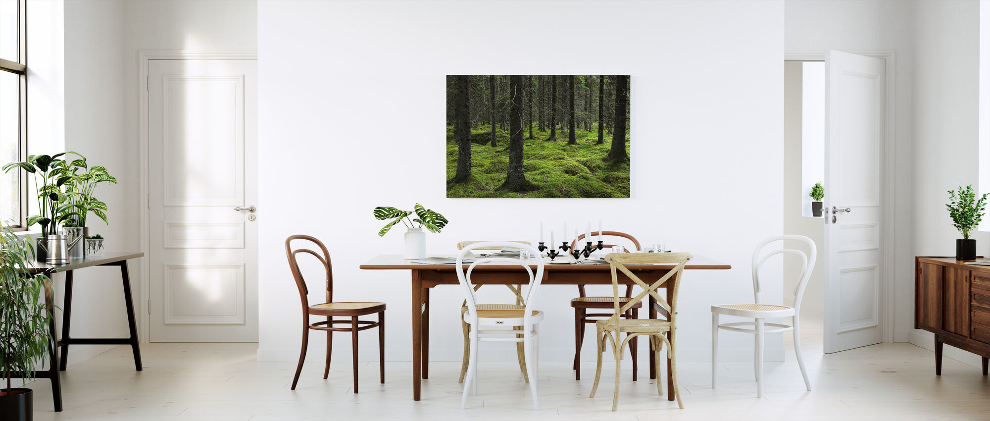 Troll Forest - Canvas print - Kitchen