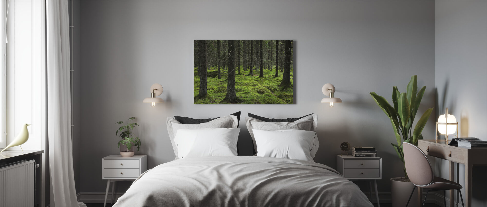 Troll Forest - Canvas print - Bedroom