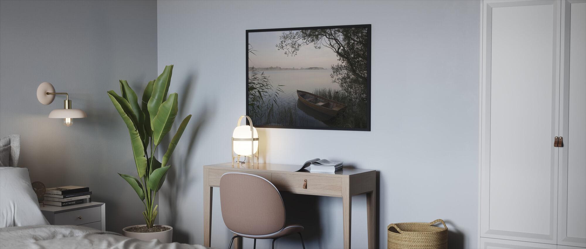Summer Evening - Framed print - Bedroom
