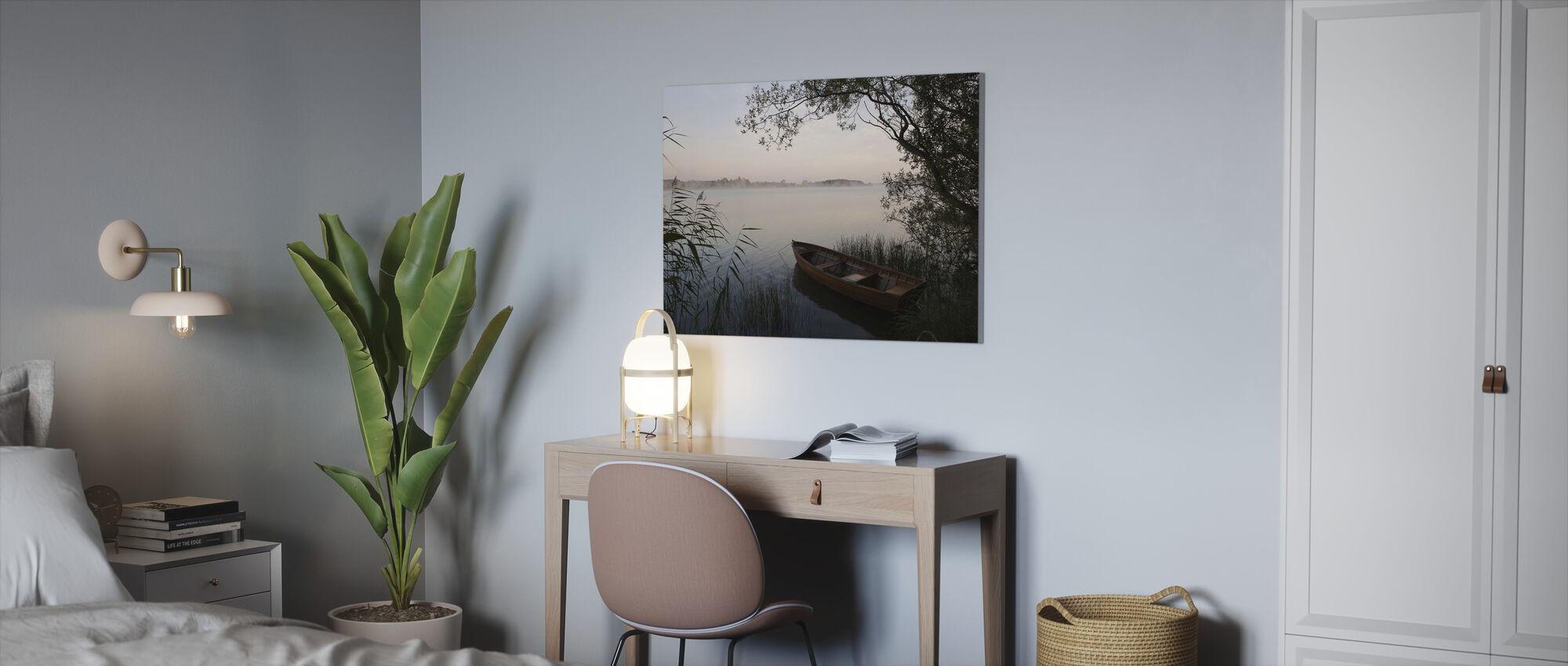 Summer Evening - Canvas print - Office