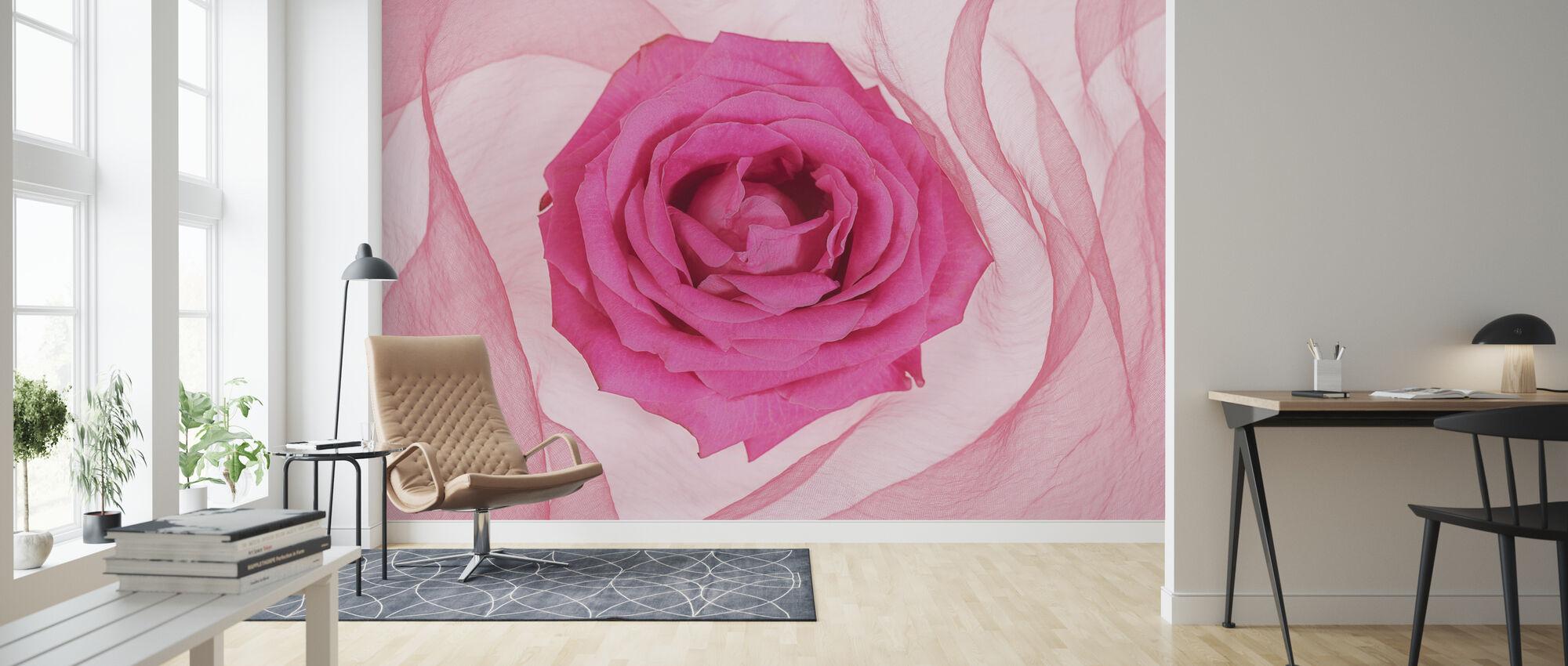 Romantic - Wallpaper - Living Room