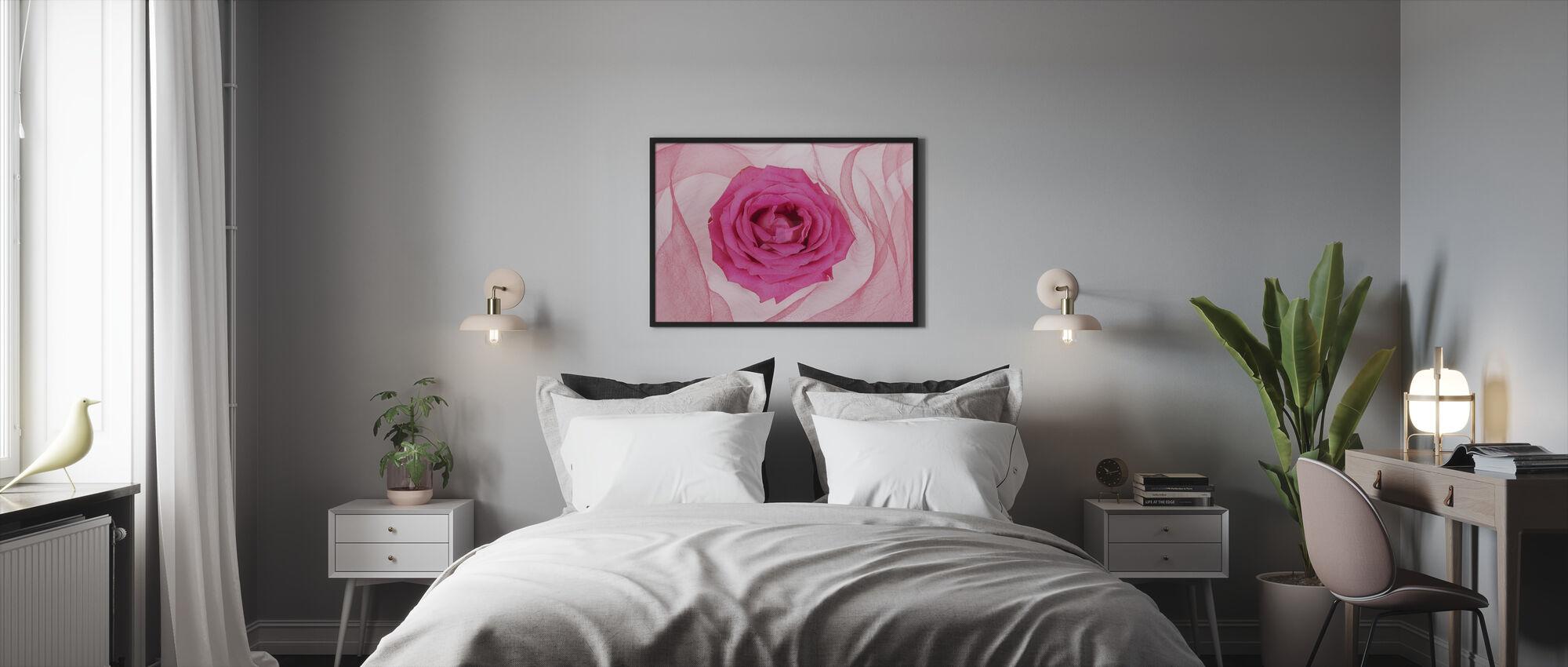 Romantic - Framed print - Bedroom