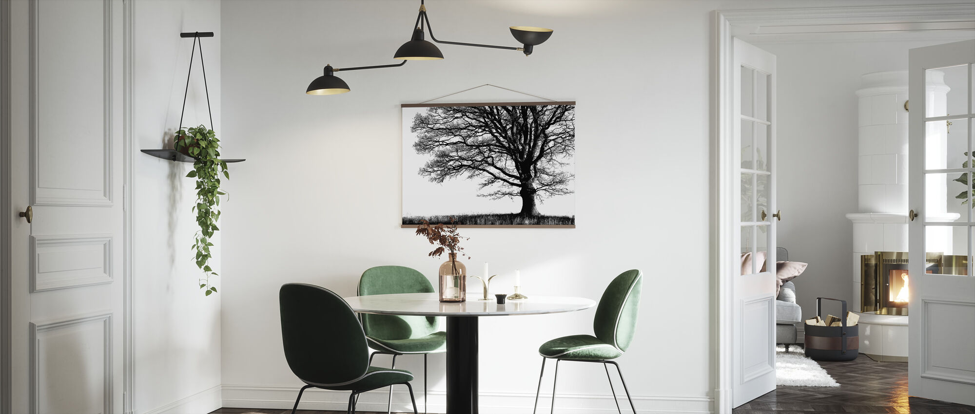 Alone Tree - Poster - Kitchen