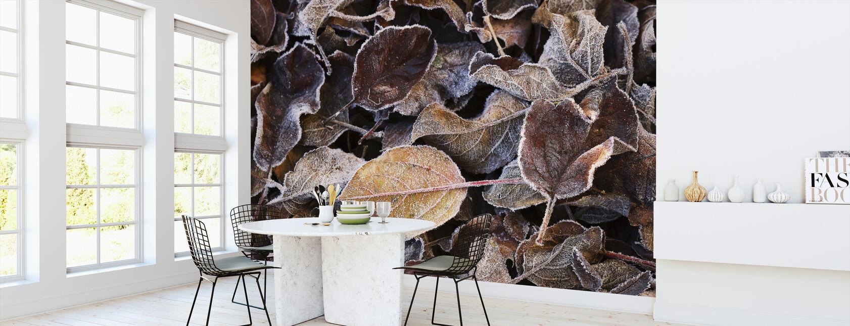 November Bladeren - Behang - Keuken