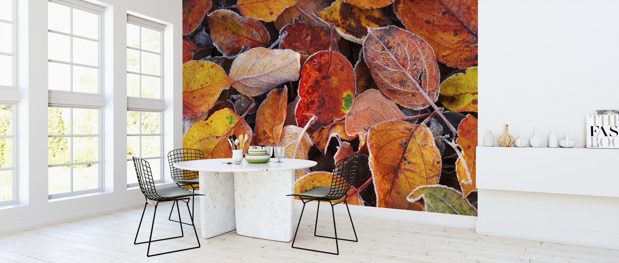 Kleurrijke bladeren - Behang - Keuken