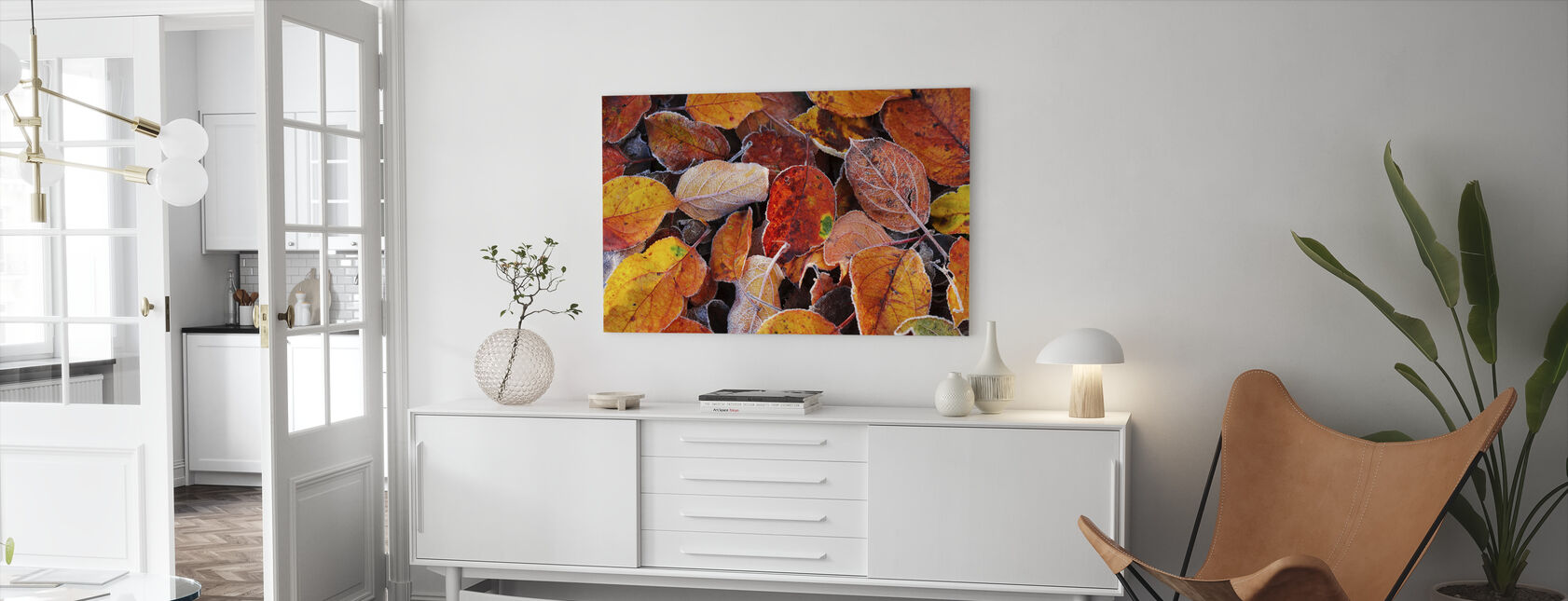 Colorful Leaves - Canvas print - Living Room