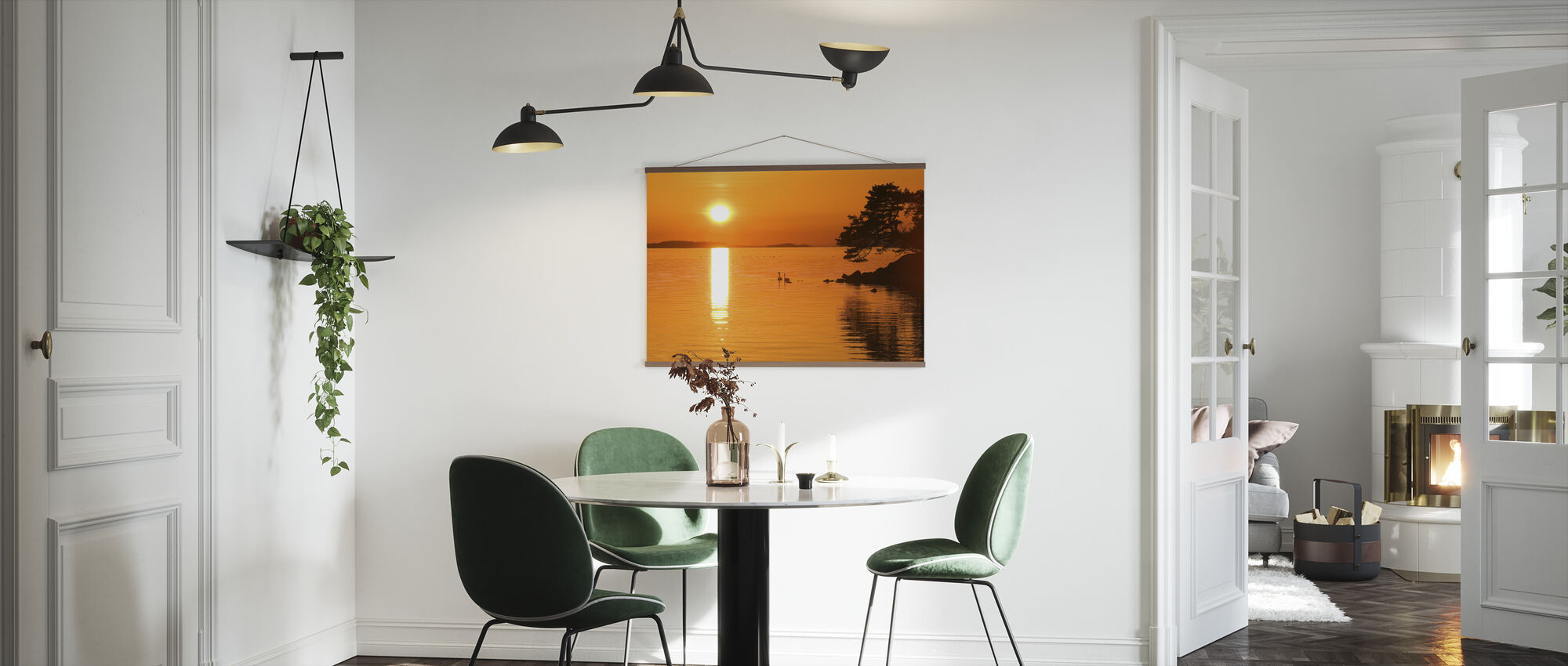 Sunrise Lake - Poster - Kitchen