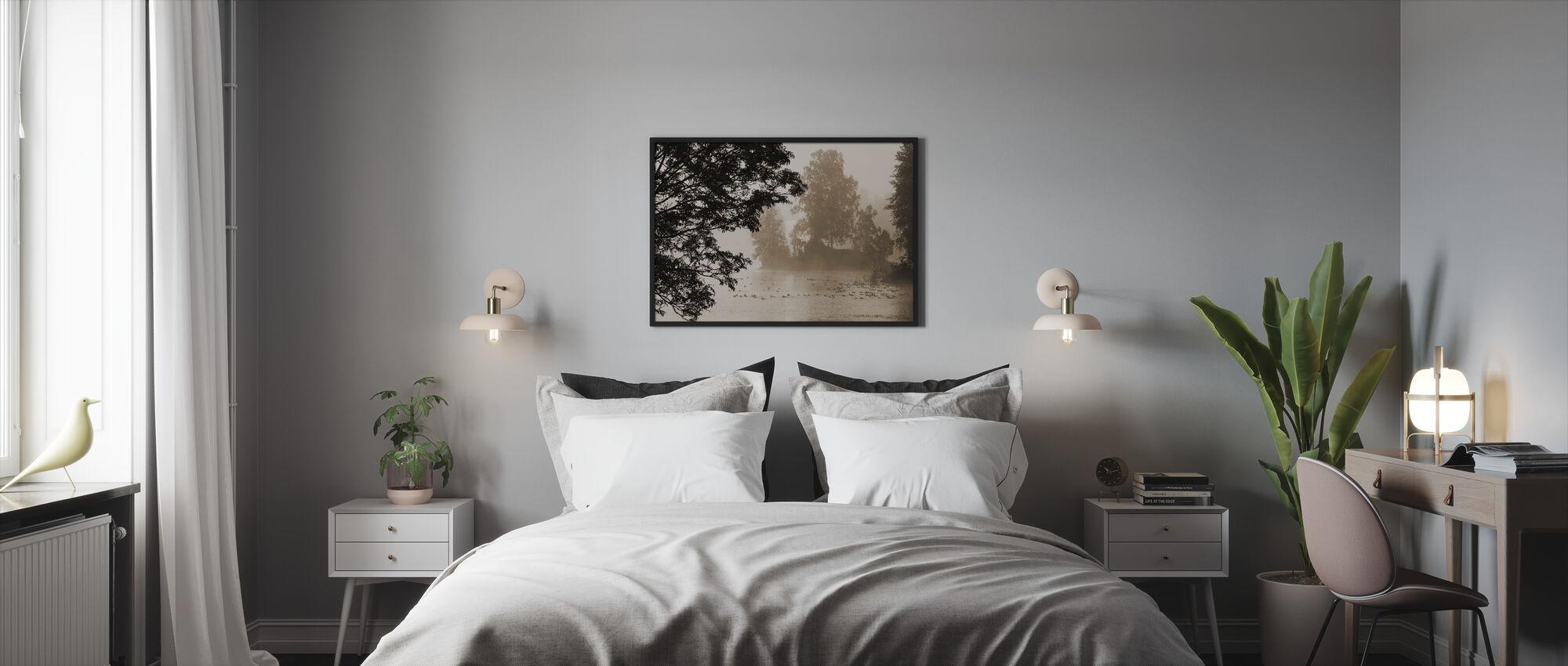 Morning Mist - Framed print - Bedroom