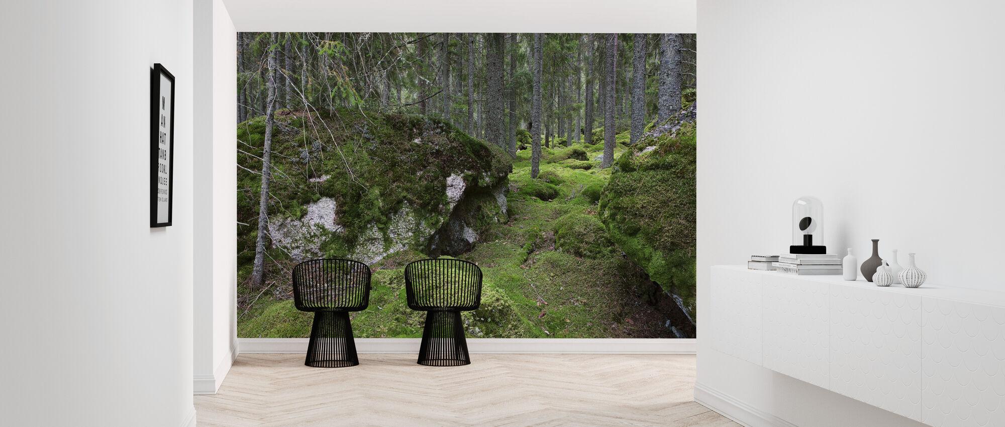 Metsä - Tapetti - Aula
