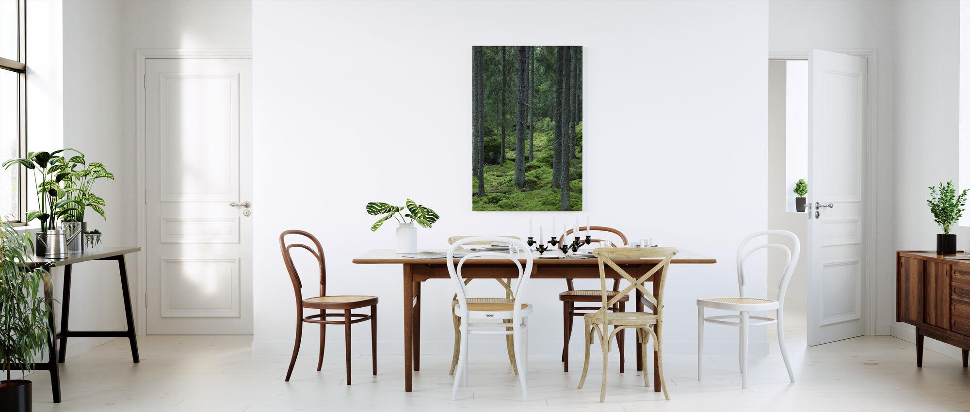 Metsän polku - Canvastaulu - Keittiö