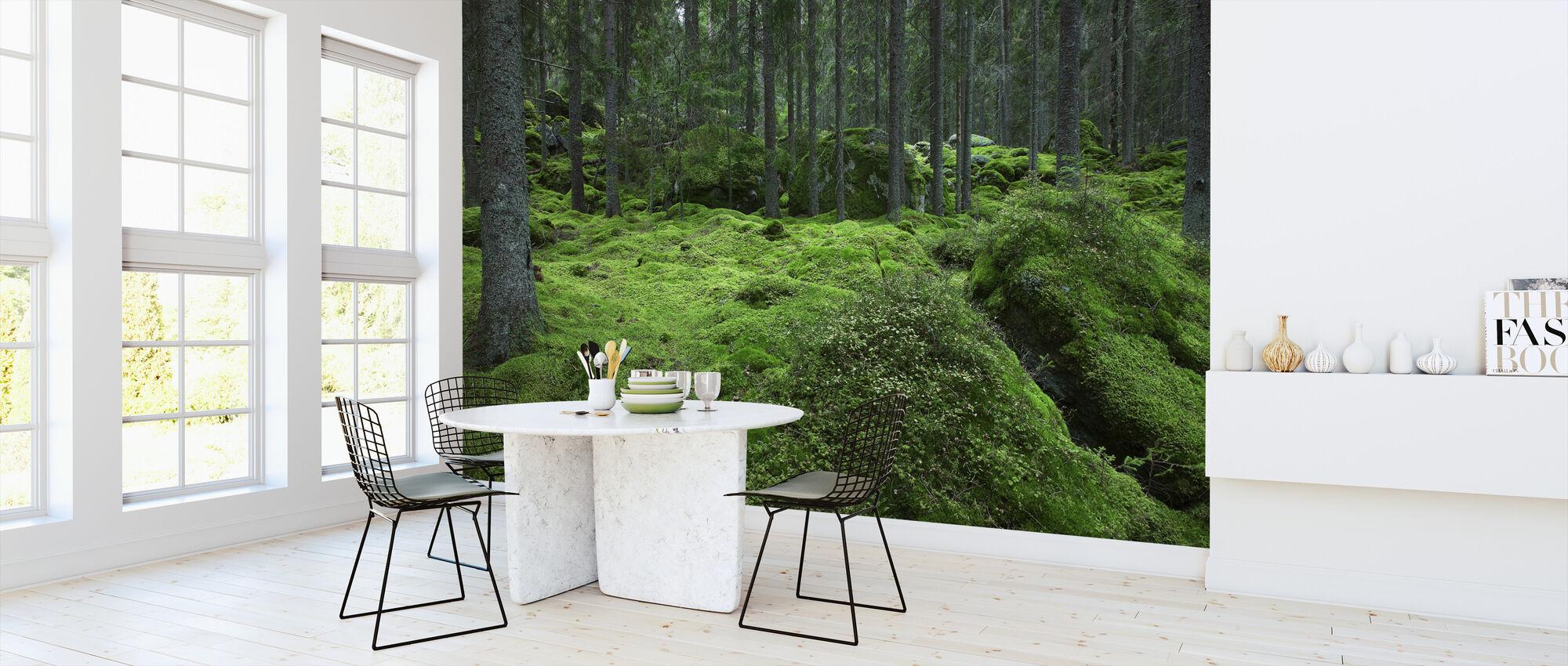 Troll skog 2 - Tapet - Kök