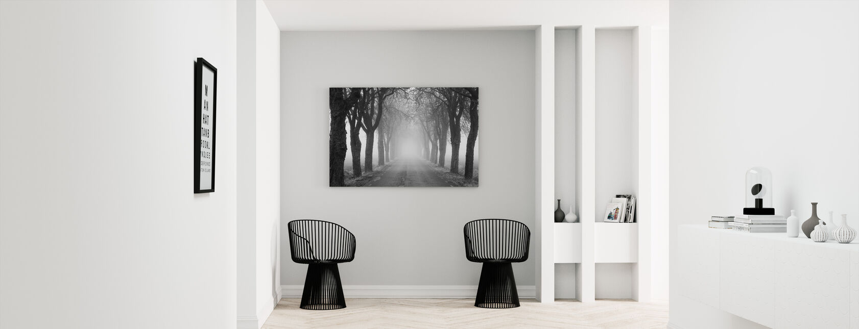 avenue - Canvas print - Hallway