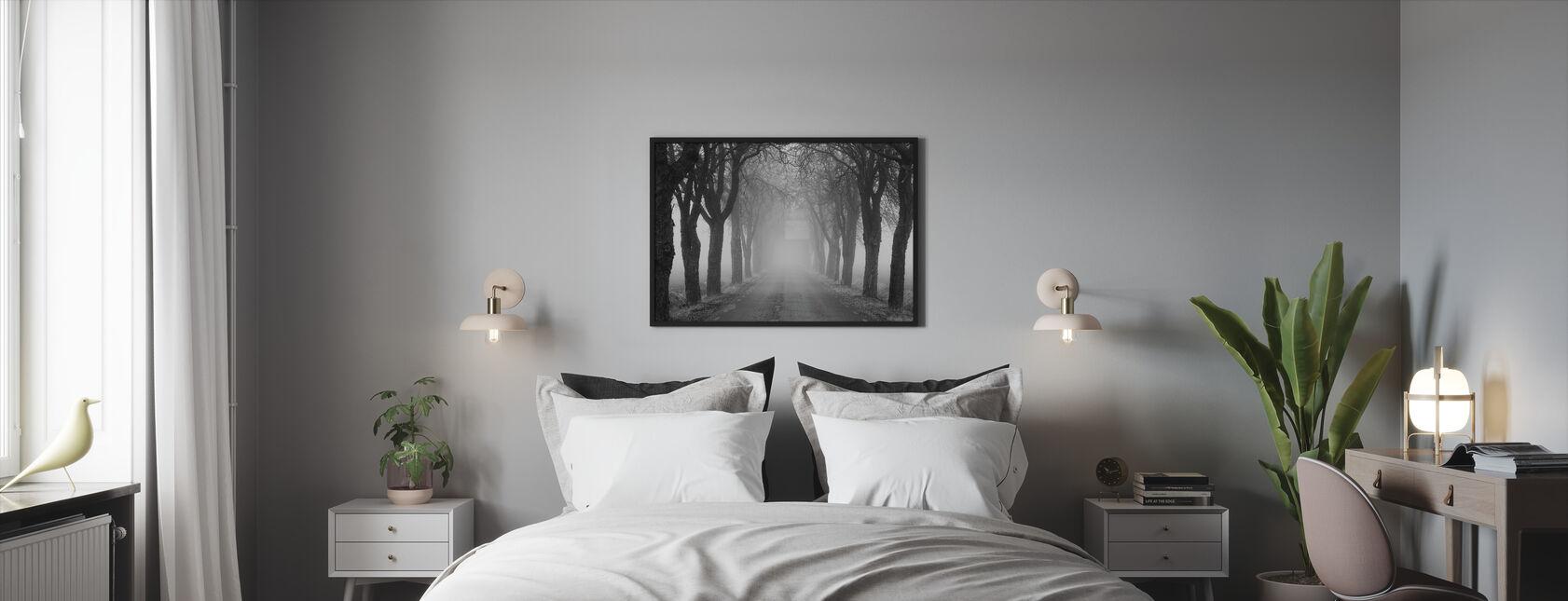 Avenue - Kehystetty kuva - Makuuhuone
