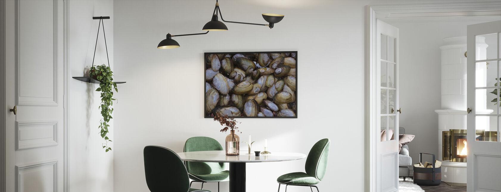 Mussel Shell - Innrammet bilde - Kjøkken