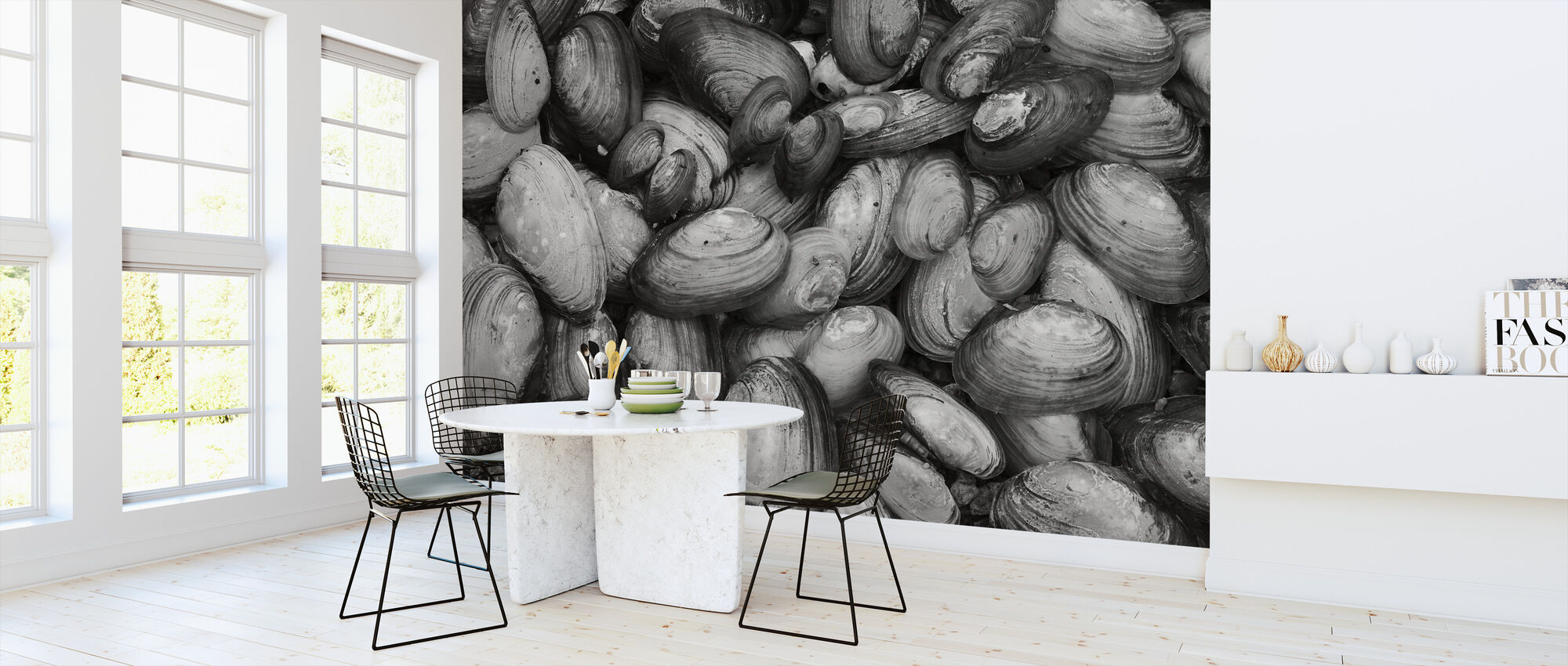 Mussel Shell - Wallpaper - Kitchen