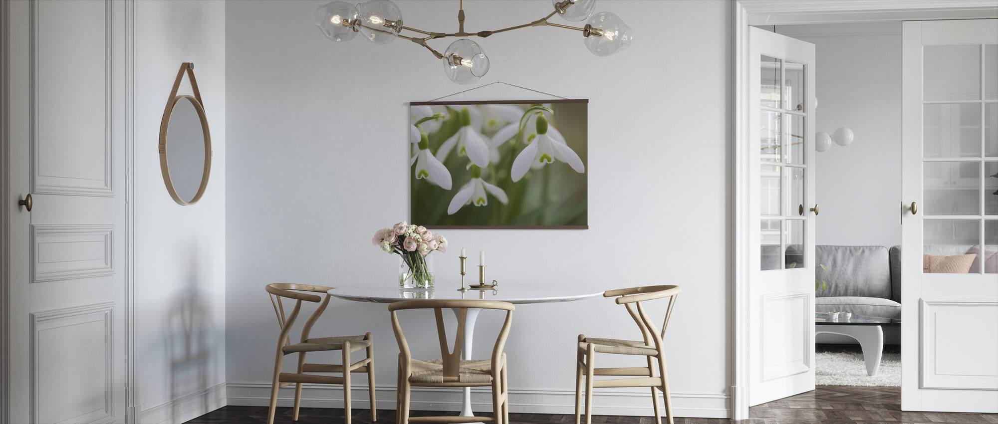 Snow Drops - Poster - Kitchen