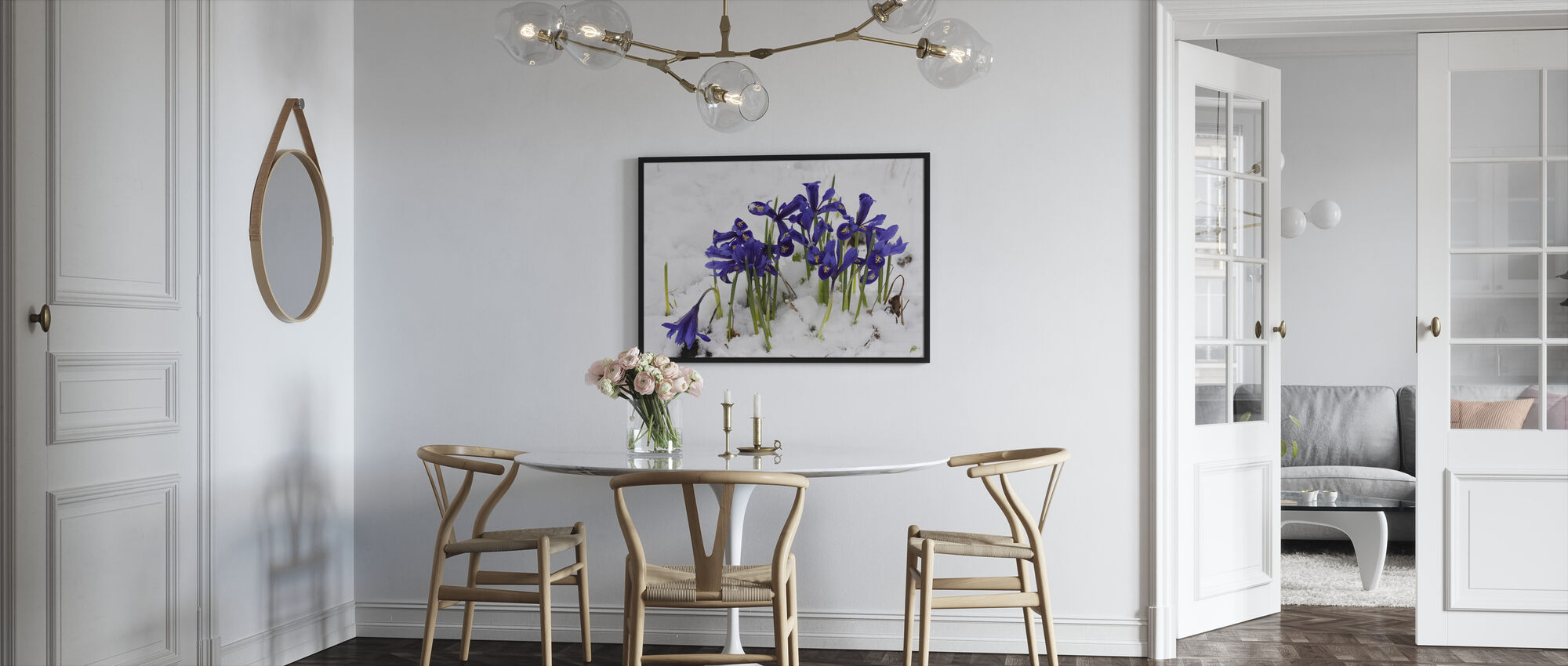 Iris - Framed print - Kitchen