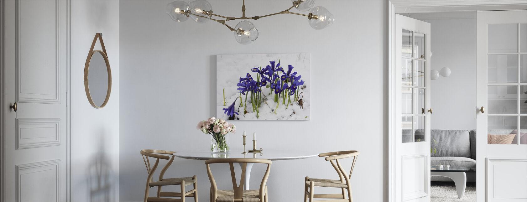 Iris - Canvas print - Kitchen