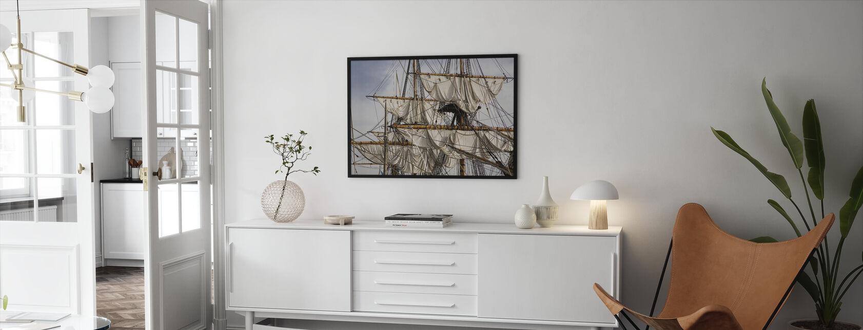 Sailing Ship - Framed print - Living Room