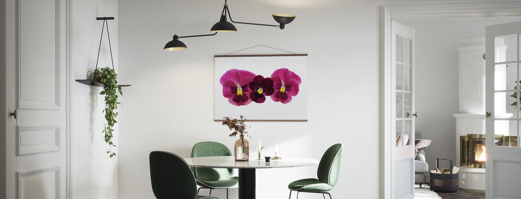 Pansies - Poster - Kitchen